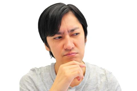 「悩む男性」の画像検索結果